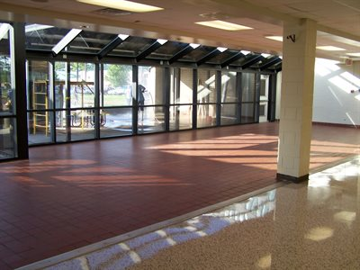 Topsail Middle School - Inside